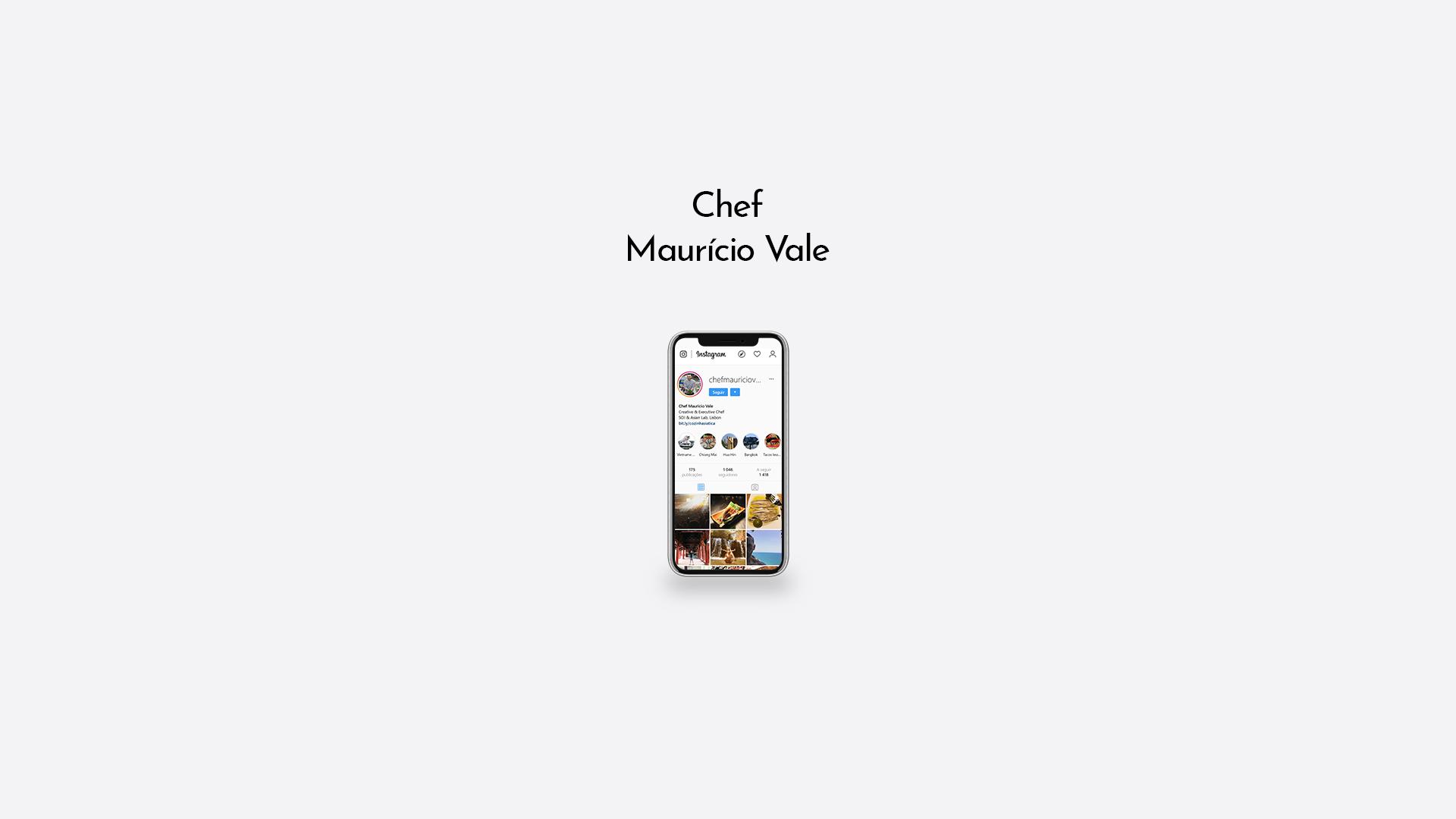 Chef Maurício Vale