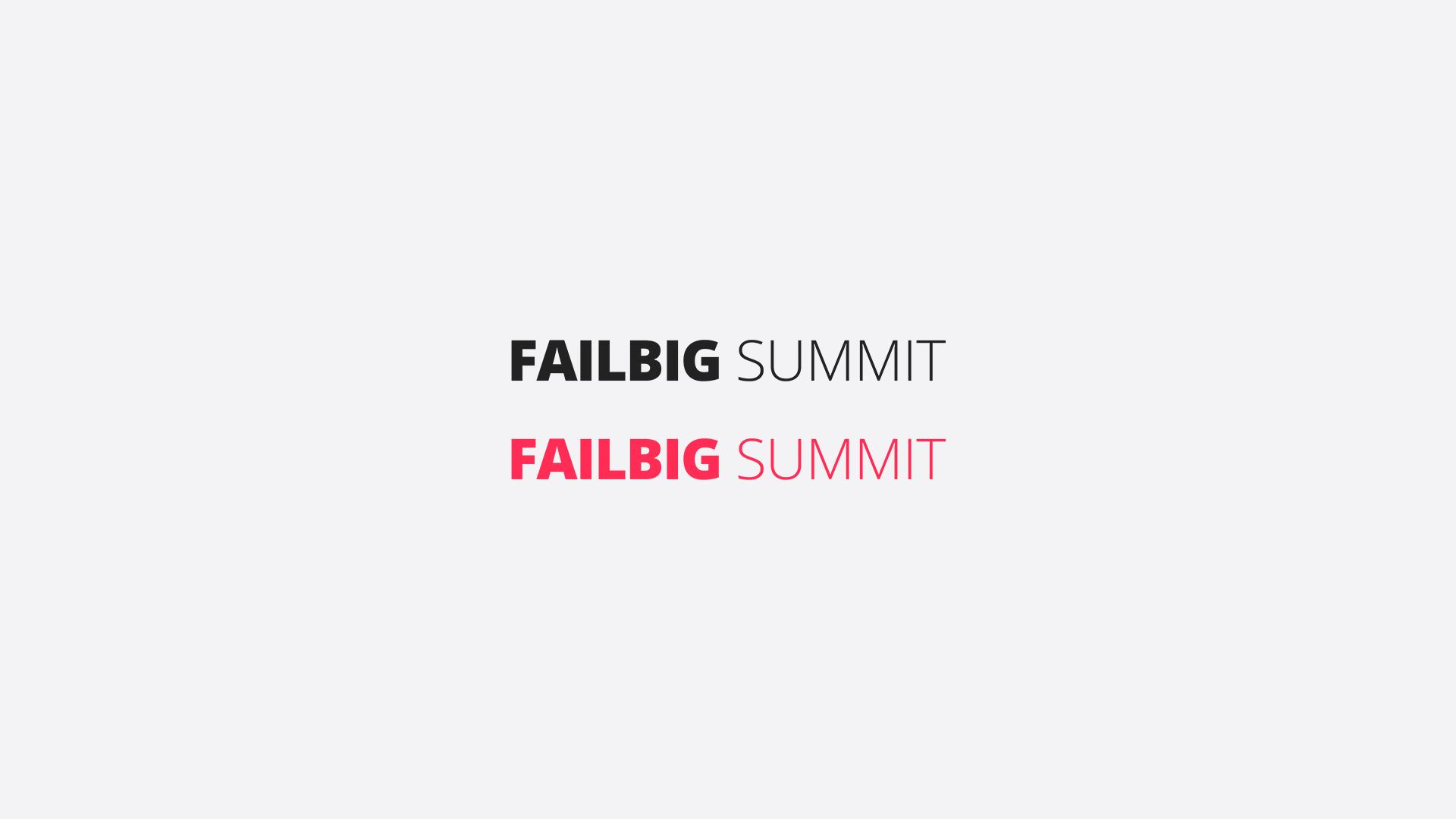 FailBig Summit
